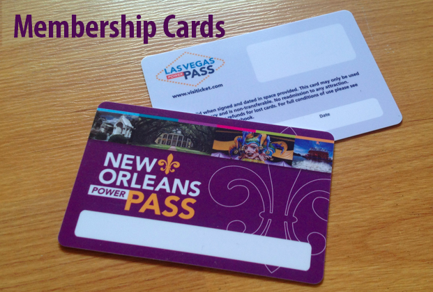 Custom Plastic Card Design - Full Color Plastic Membership Card ...